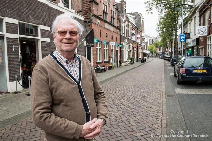 Bert Fox in de Drienerstraat