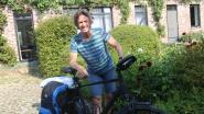 """Buddy Bart Seghers fietst 1.000 kilometer voor jongdementie: """"Aandoening heeft dringend meer aandacht nodig"""""""