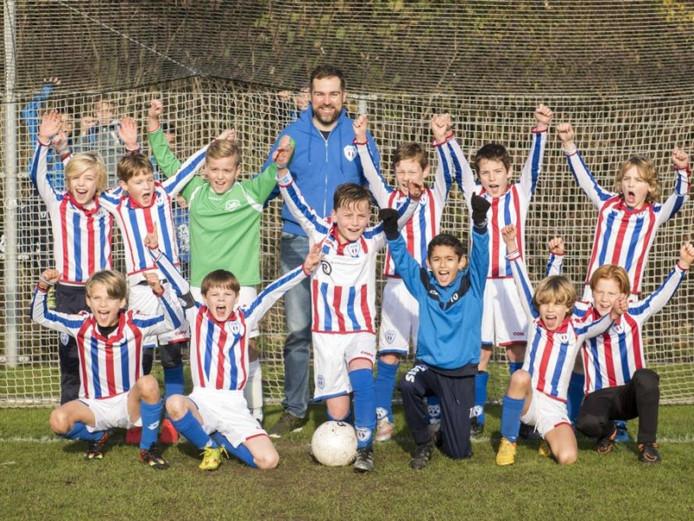 RKVV JEKA uit Breda haalde van alle clubs in Nederland het meest geld op tijdens de Grote Clubactie.