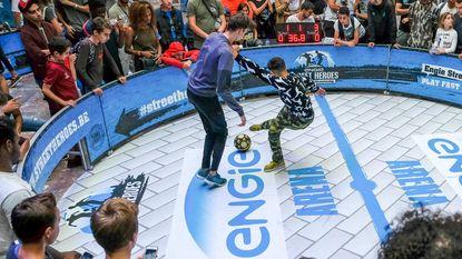 Belgisch kampioenschap panna in Bozar
