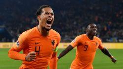 Ongelooflijk slot! Nederland sleept helemaal op het einde nog puntje uit de brand tegen de Duitsers en knokt zich zo naar 'Final Four' in Nations League