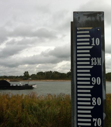 Rijn en Waal stijgen razendsnel