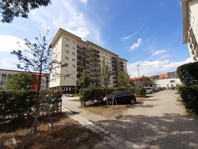 Het Centrumplein in Ledeberg