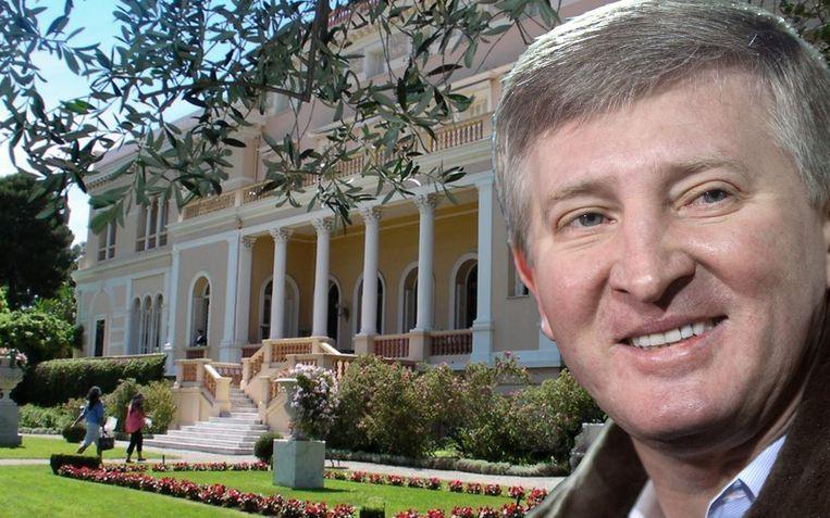 Miljardair Rinat Akhmetov is de rijkste man van Oekraïne.