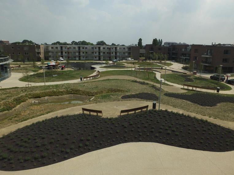 Het ontwerp van het nieuwe park werd geïnspireerd op de monding van de Amazone-rivier in Brazilië.