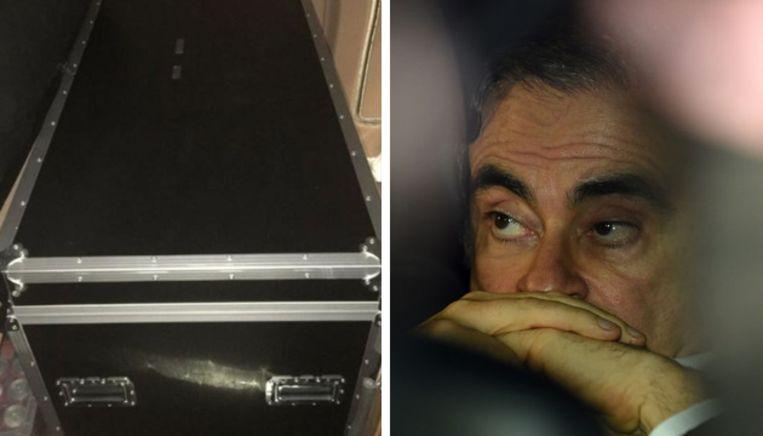 De van fraude verdachte automagnaat Carlos Ghosn heeft bij zijn vlucht uit Japan gebruikgemaakt van het openbaar vervoer. Hij zou zich ook in een grote koffer verstopt hebben.