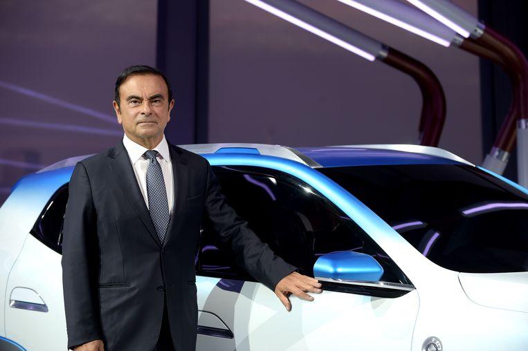 Carlos Ghosn Beeld AFP
