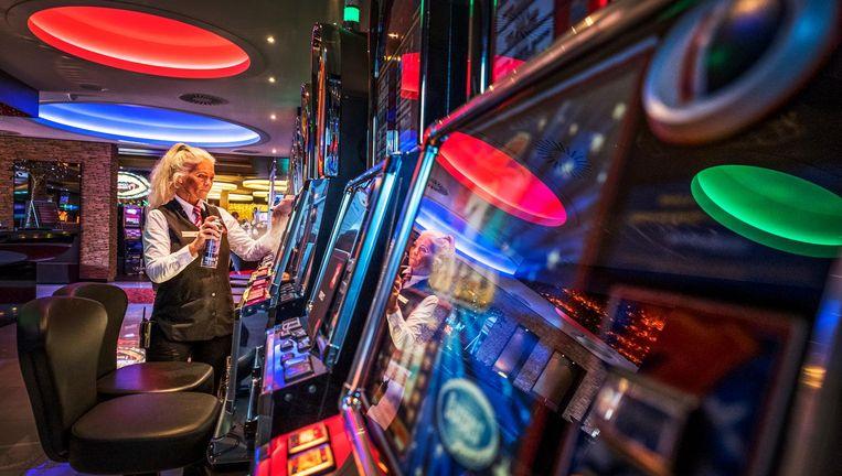 Moet game-uitgever Electronic Arts een gokvergunning hebben, zoals het Flamingo Casino in Hoorn voor zijn fruitautomaten? Beeld Raymond Rutting / de Volkskrant