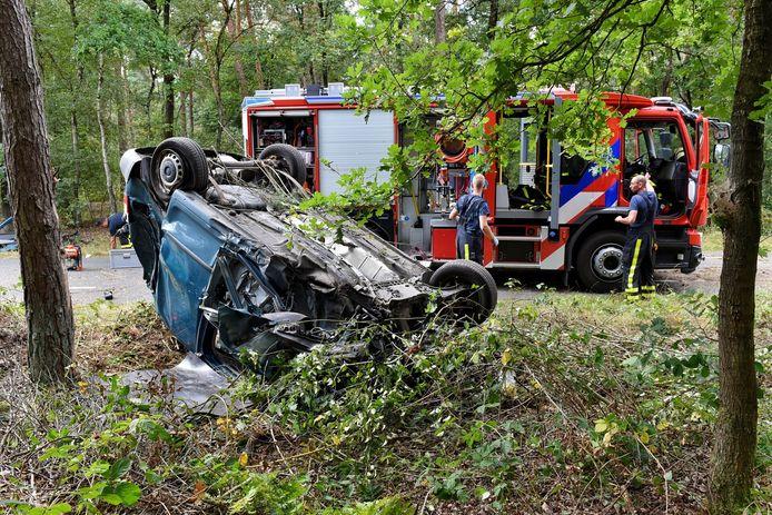 Ongeluk Biestsedijk in Diessen.