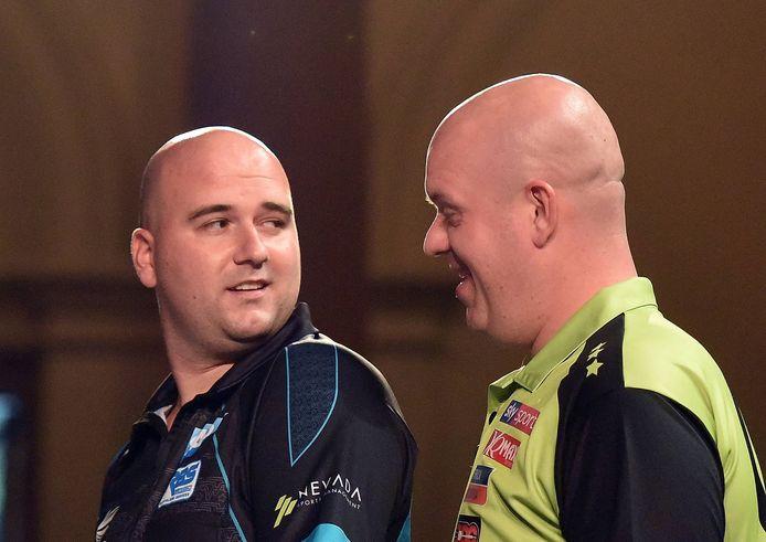 Rob Cross is de titelverdediger op het EK darts, waar nummer 1 van de wereld Michael van Gerwen favoriet is.