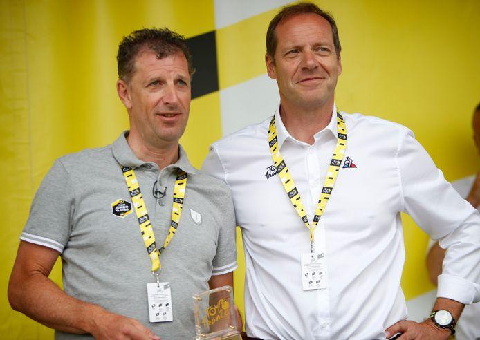 Frans Maassen (links).