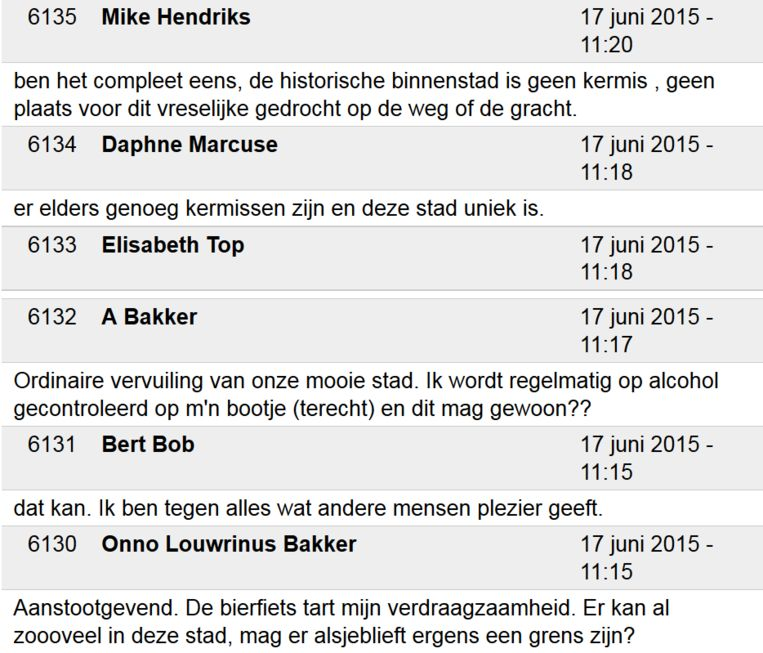 Redenen waarom Amsterdammers de bierfiets willen verbieden Beeld null