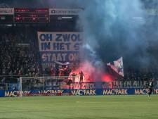 PEC Zwolle weerde twee supporters na vuurwerkincident, KNVB doet nog onderzoek