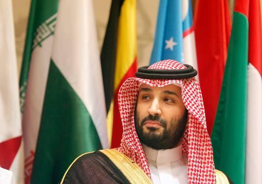 De Saoedische kroonprins Mohammed bin Salman.