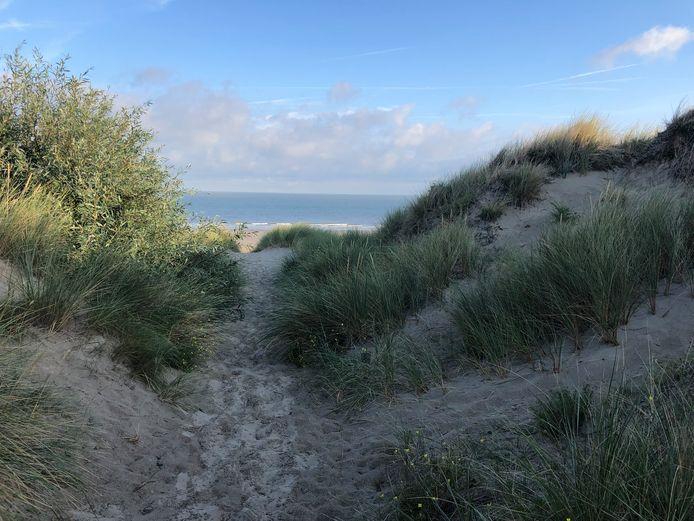 De feiten speelden zich af in de duinen van Bredene.
