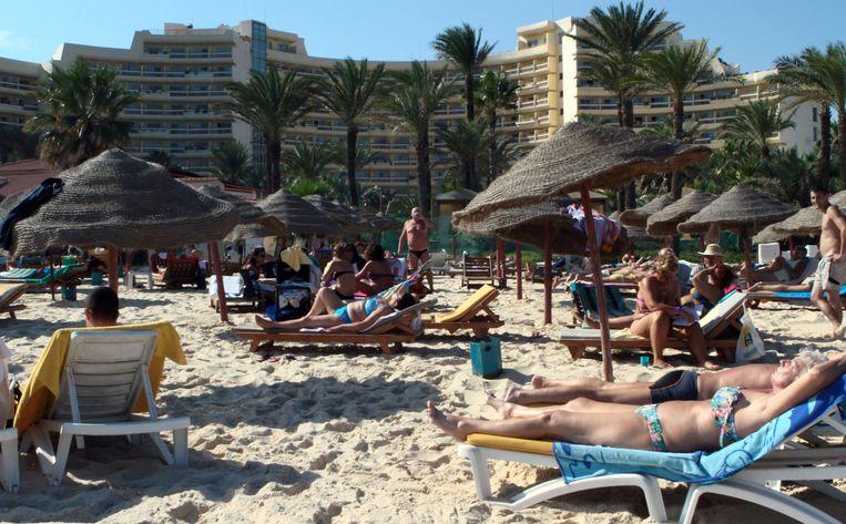 Sousse is een populaire badplaats.