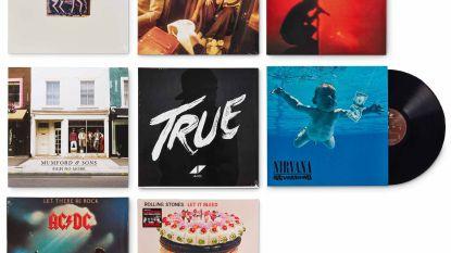 Dáárom liggen LP's Dire Straits, Abba en  AC/DC momenteel in zowat alle warenhuizen