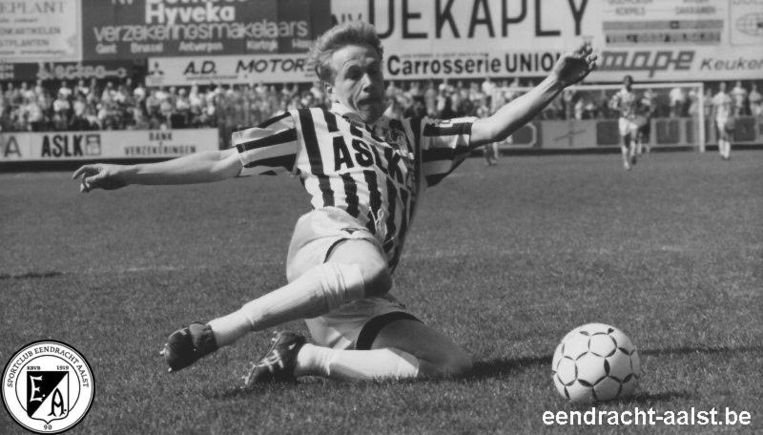 Wim De Wolf was speler bij Eendracht Aalst.