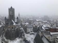 Zo mooi is Gent in de sneeuw