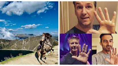 SHOWBITS. Het paard van Ella-June Henrard en waarom doen De Romeo's een high five?