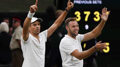 Mike Bryan wint zonder broer mannendubbelspel op Wimbledon
