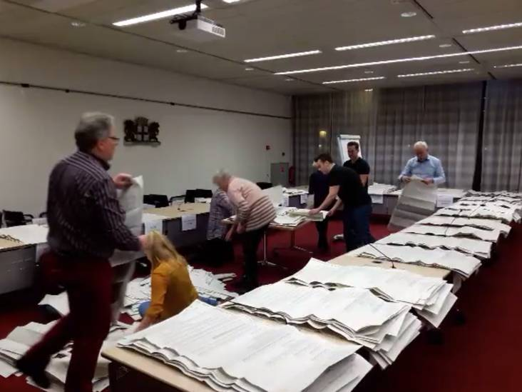 Recordaantal hokjes  om straks in te stemmen