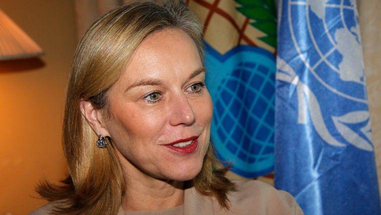 Sigrid Kaag, de speciale coördinator van de vernietigingsmissie van de Organisatie voor het Verbod op Chemische Wapens (OPCW). Beeld REUTERS