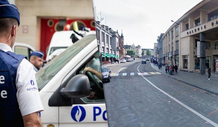 De jongeman werd in de Ravensteinstraat aangereden, toen hij de straat overstak.