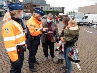 Politie sensibiliseert om peuken niet op straat te gooien