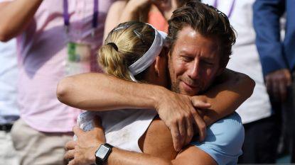 """Belgische coach van Wimbledon-winnares Kerber: """"Een droom voor Angelique en mij"""""""