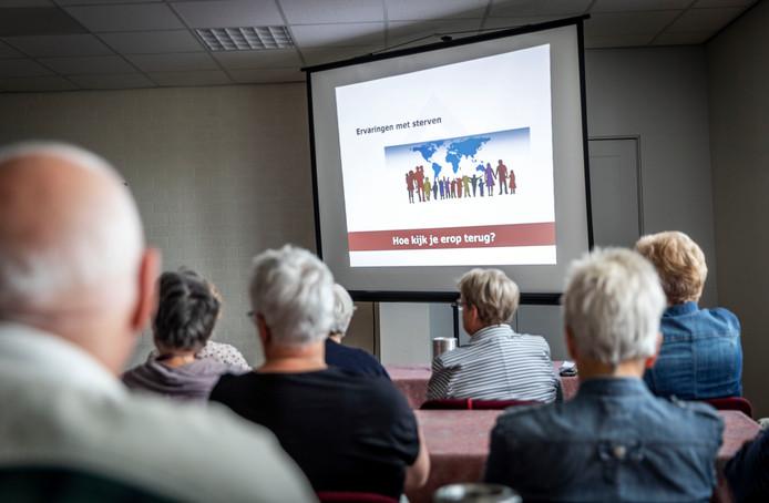Interactieve lezing over het levenseinde in Aarle-Rixtel.