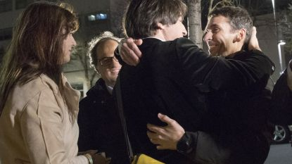 Opgepakte Catalanen die Puigdemont in Duitsland begeleidden vrijgelaten