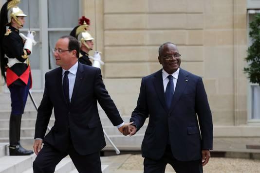 François Hollande et son homologue malien Ibrahim Boubacar Keita