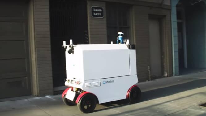 """San Francisco remt robots af: """"Trottoirs zijn voor mensen"""""""