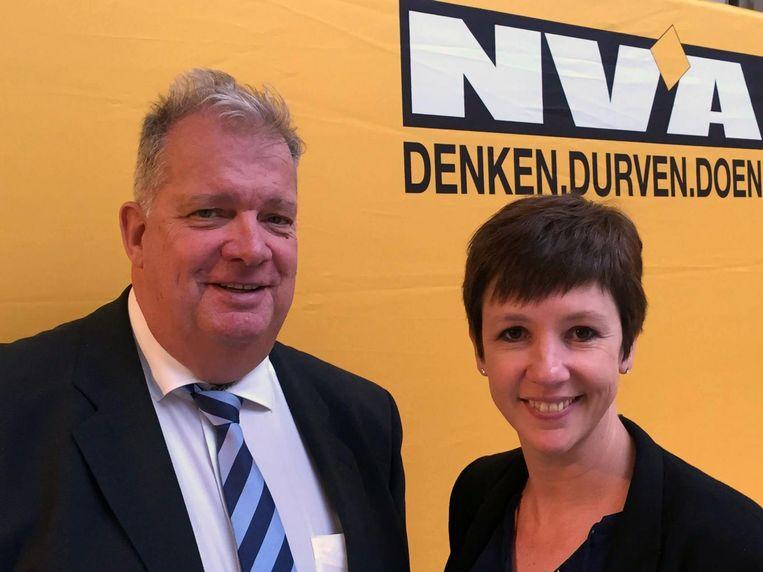 Jo Vanmechelen en tweede in lijn Sabine Wyns.
