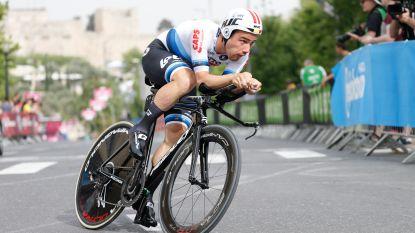 """Campenaerts vandaag aan het kanon in Giro-tijdrit: """"Ik verkeer in een luxepositie"""""""