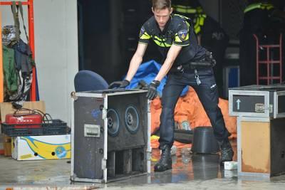 Drie krakers aangehouden na brandstichting en geluidsoverlast in loods Breda
