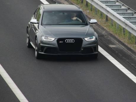 Zwaarbeveiligde Audi RS4 toch gejat... god weet wat er nu mee gebeurt