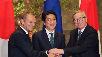EU en Japan tekenen vrijhandelsakkoord