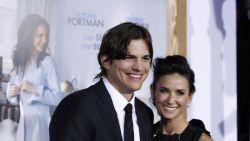 """Demi Moore liet zich door Ashton Kutcher verleiden tot triootjes: """"Ik wilde laten zien hoe leuk ik kon zijn"""""""