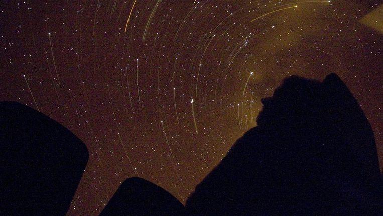 Kleine verschillen wijzen op minieme concentraties van materie en dat zijn de zaadjes waaruit later sterren en sterrenstelsels zijn gegroeid. Beeld anp