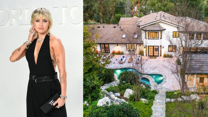 BINNENKIJKEN. In deze villa wil Miley Cyrus genieten van het vrijgezellenleven