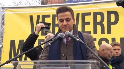 Dries Van Langenhove spreker op nieuwjaarsreceptie van Vlaams Belang
