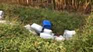 91 vaten met drugsafval gedumpt in grensstreek