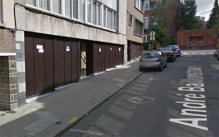 De André Baillonstraat in Vorst.