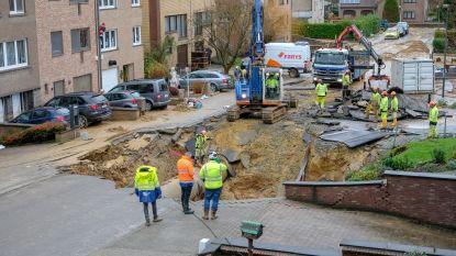 Vertraging voor herstellingswerken waterleiding Witte Roos door vriesweer