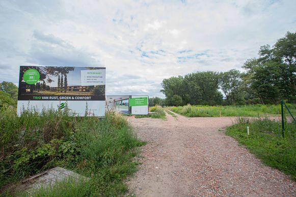De bouw van de drie woonblokken start volgende maand.
