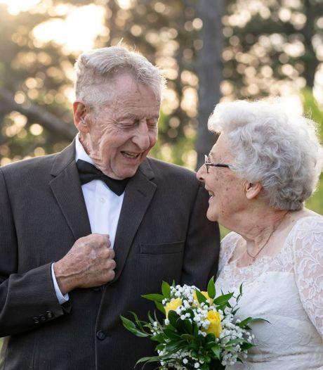 60 ans après, ils recréent leurs photos de mariage