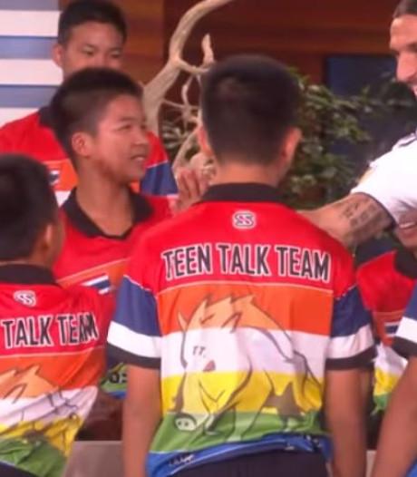 Zlatan verrast uit Thaise grot geredde voetballers