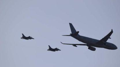Inwoners Noorderkempen opnieuw getrakteerd op spectaculaire beelden van straaljagers en tankvliegtuig